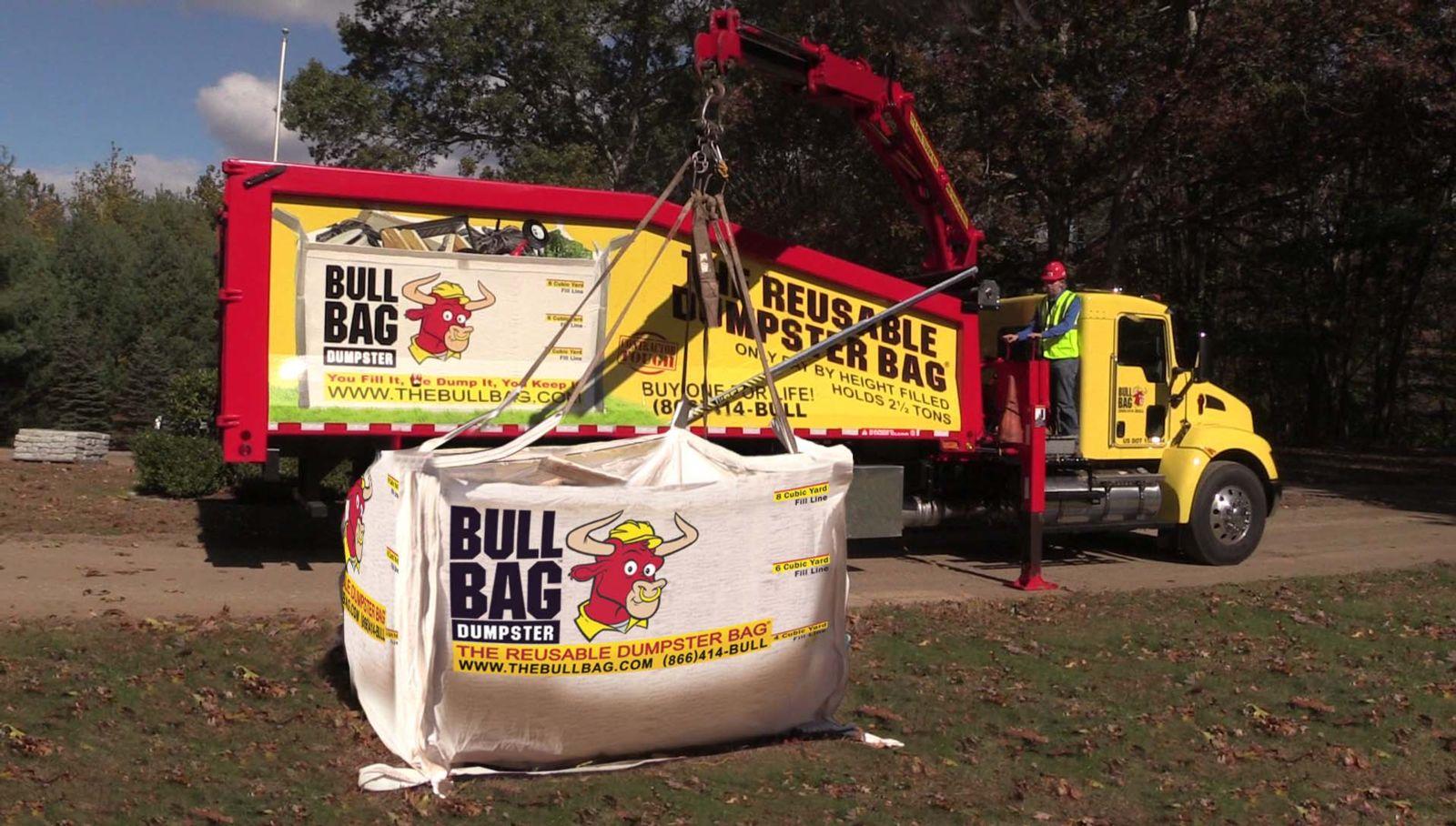 Bullbag Advantages Dumpster Bag Pickup South Florida The